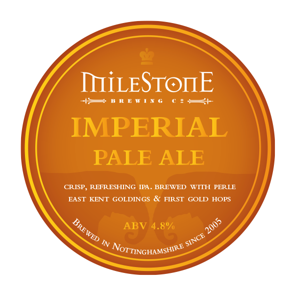 IPA Craft Beer Milestone Brewery