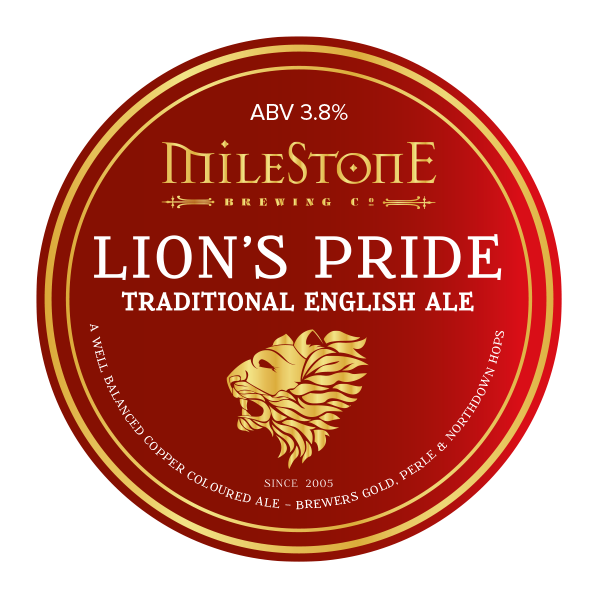 Lion's Pride Craft Beer Milestone Brewery