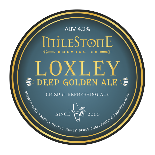 Loxley Ale Craft Beer Milestone Brewery