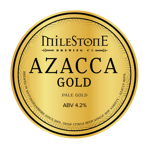 Azacca Pale Ale Milestone Brewery Craft Beer