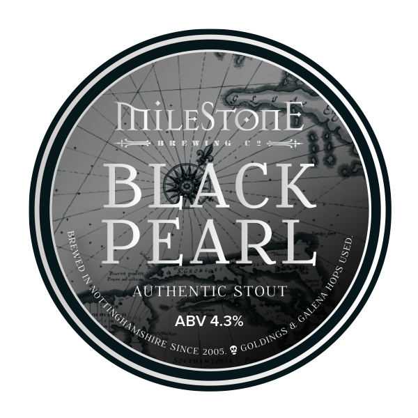 Black Pearl Stout Craft Beer Milestone Brewery