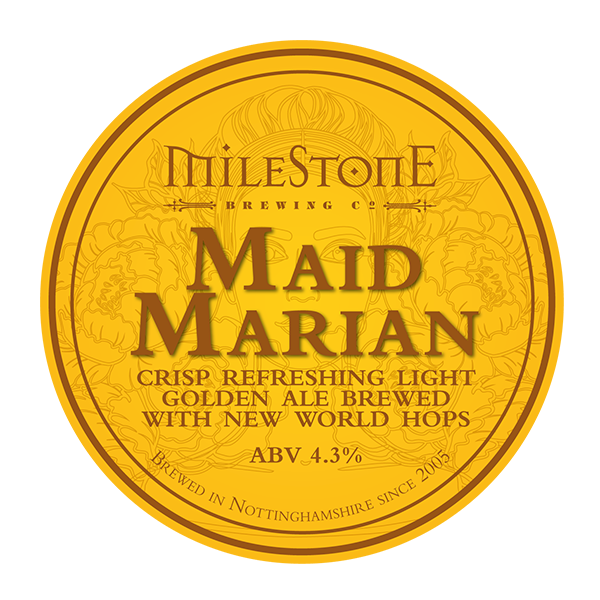 Maid Marian Craft Beer Milestone Brewery