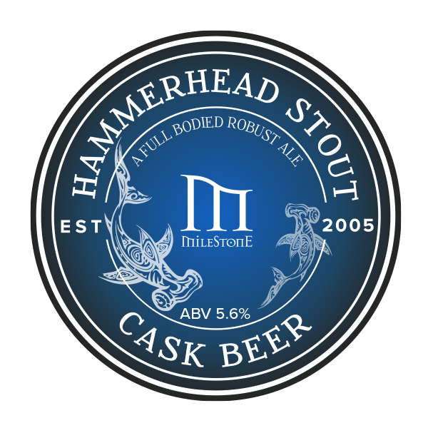 Hammerhead Stout Craft Beer Milestone Brewery
