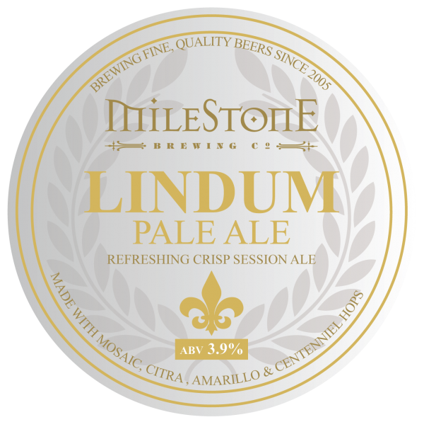 Lindum Pale Ale Craft Beer Milestone Brewery