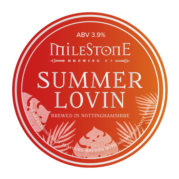 Summer Lovin Craft Beer Milestone Brewery