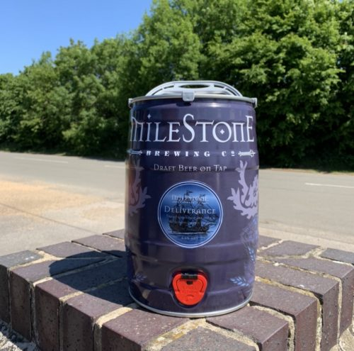 Deliverance Craft Beer Mini Keg Milestone Brewery