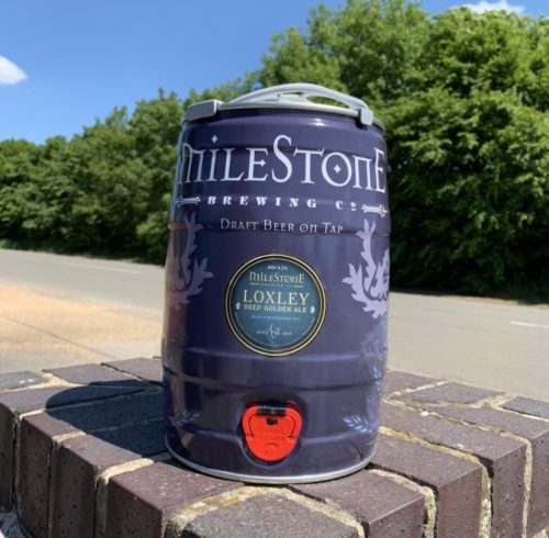 Loxley Ale Craft Beer Mini Keg Milestone Brewery
