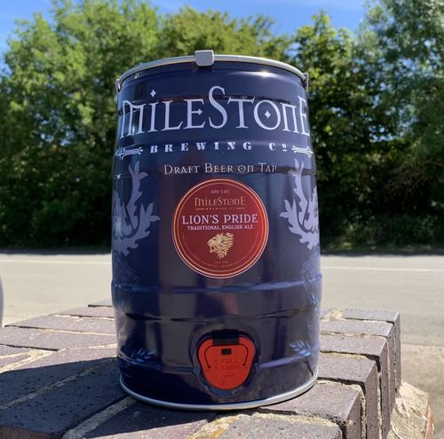 Lion's Pride Craft Beer Mini Keg Milestone Brewery