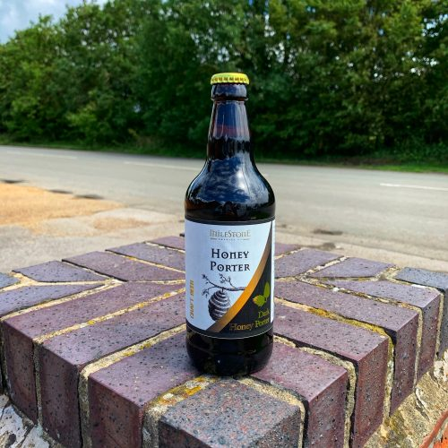 Honey Porter Craft Beer Bottled Beer Milestone Brewery