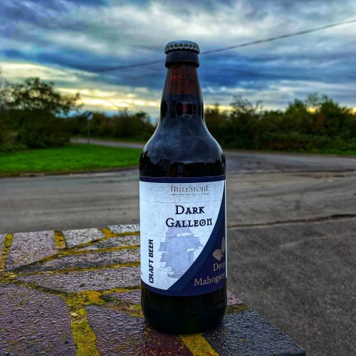 Dark Galleon Bottled Beer Milestone Brewery