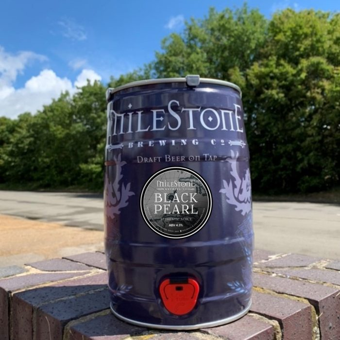 Stout Mini Keg Milestone Brewery